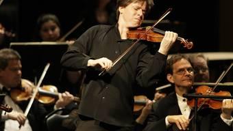 Der US-amerikanische Geiger Joshua Bell spielt an den Migros-Kulturprozent-Classics 2016/2017 in vier Schweizer Städten das Konzert für Violine und Orchester e-Moll von Felix Mendelssohn Bartholdy (Archiv)