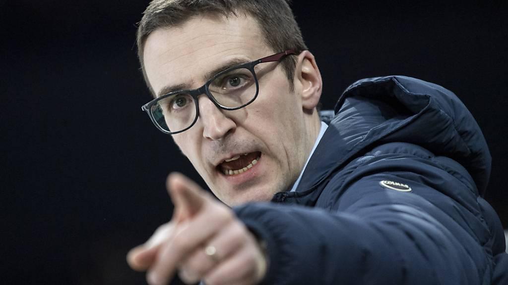 Blick in die Zukunft: Ambri-Trainer Luca Cereda sorgt sich um die Identität seines und der anderen Schweizer Klubs, wenn die Ausländerzahl im Schweizer Eishockey auf zehn erhöht würde