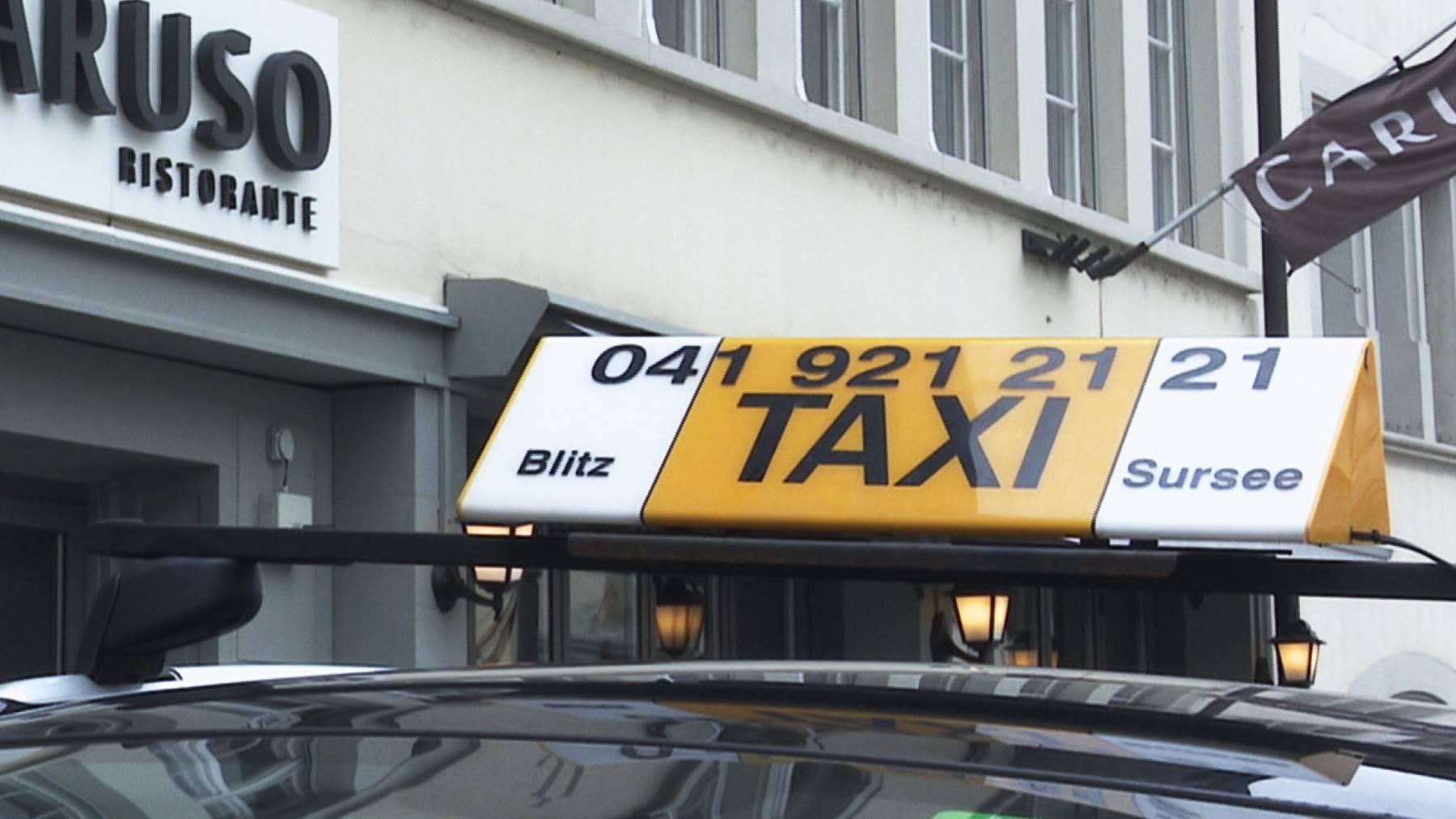 Sursee will Taxis aus der Altstadt verbannen
