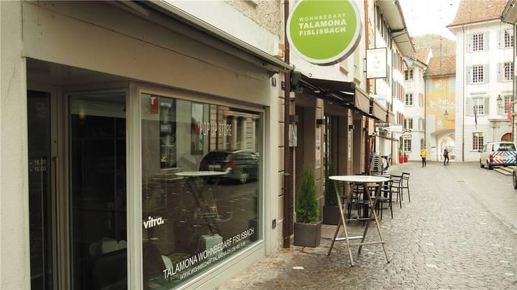 Der «TalamonaPopUp» ist einer von drei Pop-up-Stores in Baden.