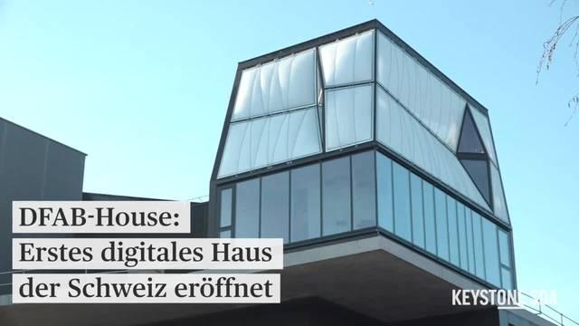 So sieht es im ersten digital erstellten Haus der Schweiz aus