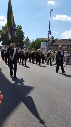 Die Konkordia auf der Paradestrecke