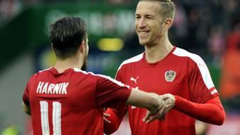 Marc Janko kann wieder lachen: Die enttäuschend verlaufenen EM mit Österreich ist abgehakt.