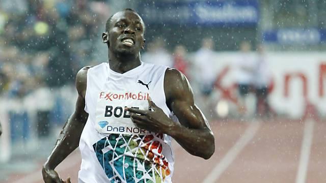 Bolt einmal mehr nicht gefordert
