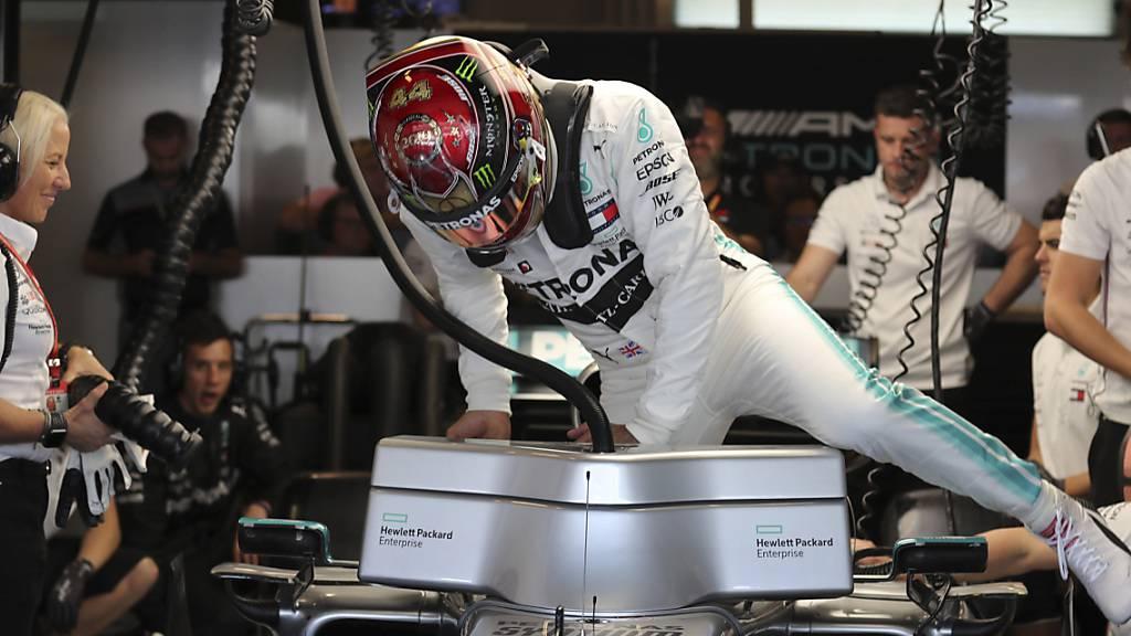 Letzte Pole-Position des Jahres geht an Weltmeister Hamilton