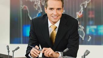 Florian Inhauser ist zurück im Newsbusiness: Er berichtet von der Prinzenhochzeit (Bild SRF)