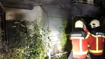 Der Feuerteufel von Neuenhof legte sieben Brände. Am Mittwoch steht er vor Gericht.