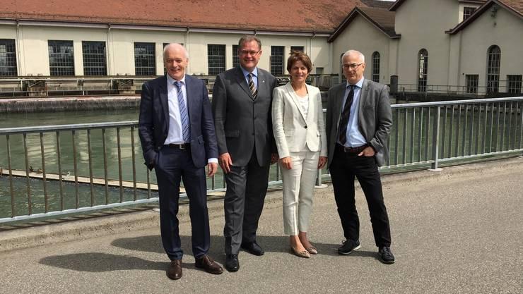 <p>(Martin W&uuml;rsten, Hans-Kaspar Scherrer, Jolanda Urech, Werner Leuthard)</p>