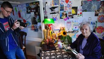 Helga Sofie Josefa liest «eine wahre Gruselgeschichte».