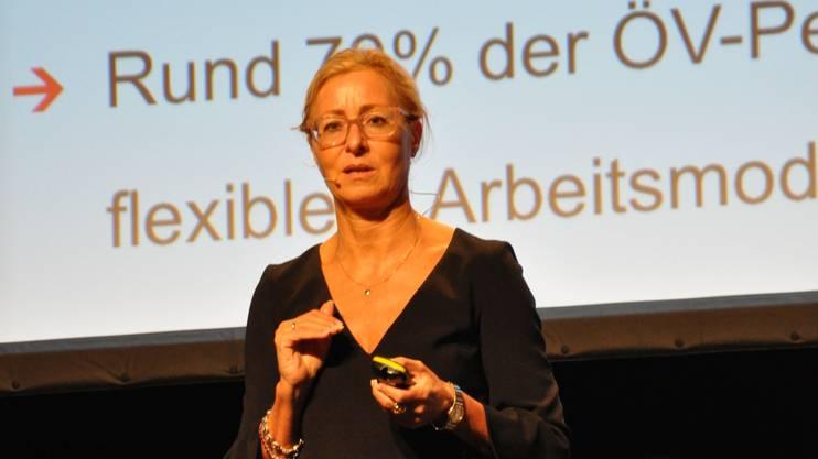 Jeannine Pilloud forderte ein Umdenken in der Gesellschaft.