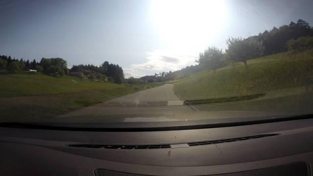 Im Schnelldurchlauf: Fahren Sie mit René Huber die Strecke ab!