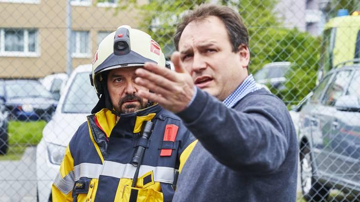 Am 08. Mai 2019 fand an der Schule Urdorf eine Überraschungs-Evakuationsübung statt.
