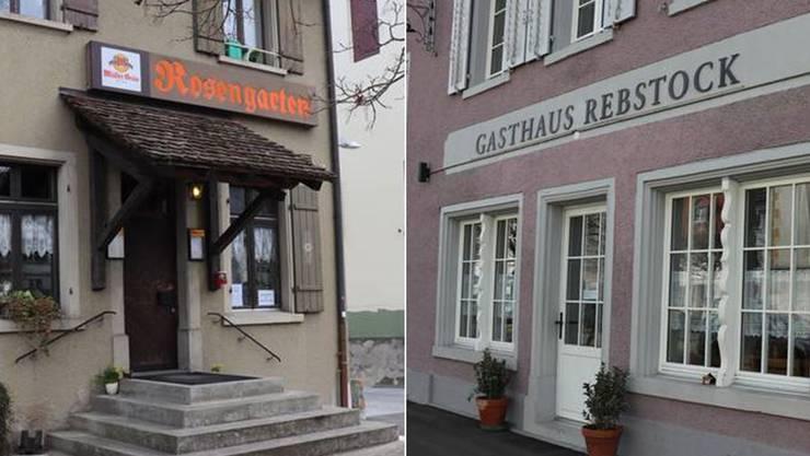 Mit dem «Rebstock» und dem «Rosengarten» schliessen gleich zwei Restaurants im Ort.