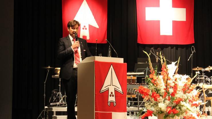 Stadtpräsident François Scheidegger