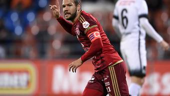 Franz Burgmeier schoss das 3:0 für den Liechtensteiner Serien-Cupsieger