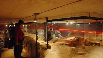 Der noch zu eröffnende Stationenweg durch die Ausgrabungsstätten in Windisch ist schon im Führer enthalten