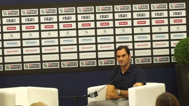 Roger Federer über die neue Halle