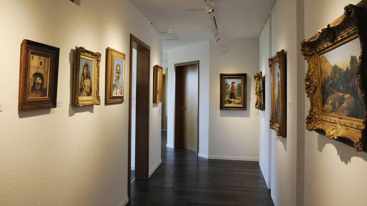 In Bettlach hat ein Sammler ein Museum mit Werken des Felbrunner Künstlers Frank Buchser eröffnet.