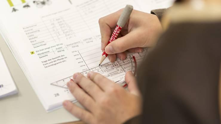 Die Schweizer 15-Jährigen sind in Mathematik die Besten in Europa.