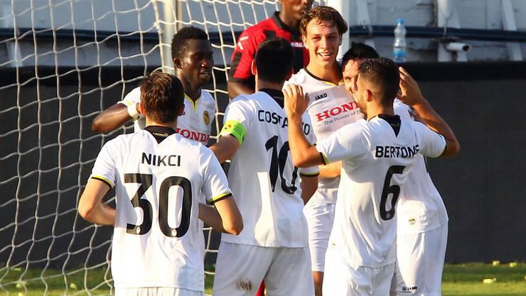 Dürfen die Young Boys gegen den SC Debrecen feiern?