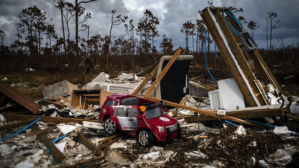 Tropensturm-Warnung für Norden der Bahamas