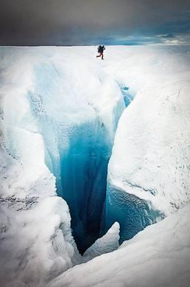 Gletscher-Trekking bei Kangerlussuaq.