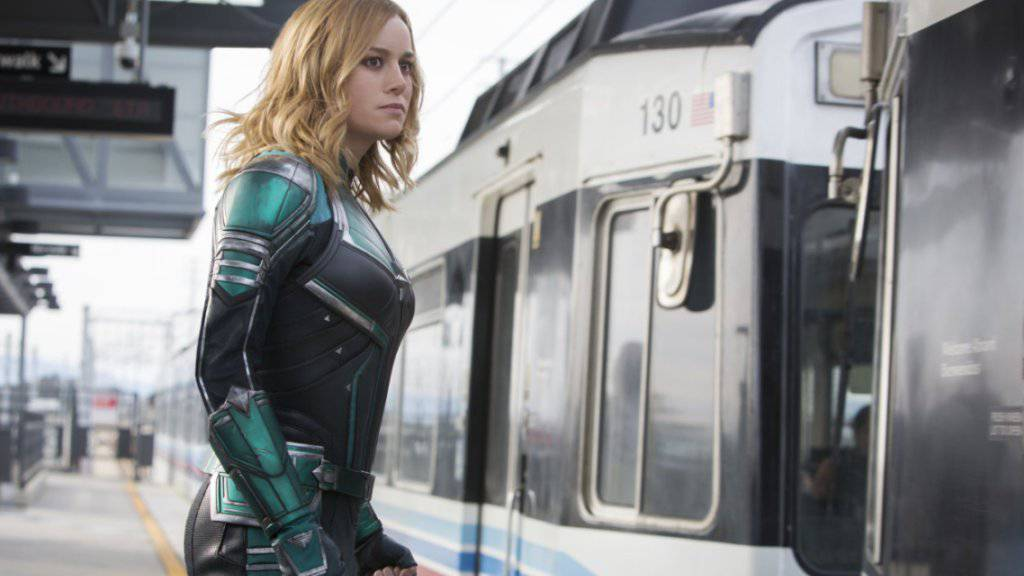«Captain Marvel» an Spitze der US-Kinocharts