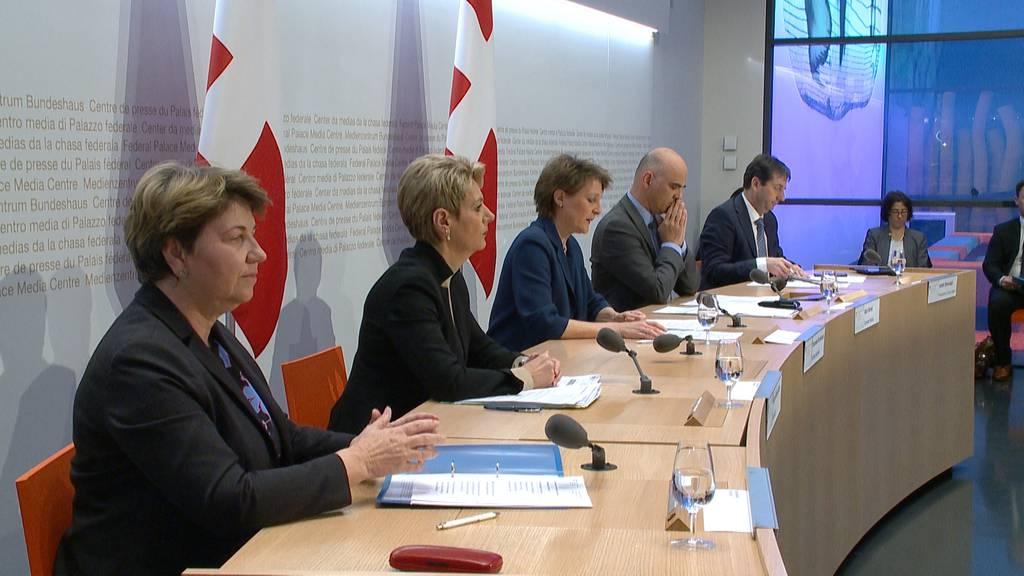 Bundesrat beschliesst Lockdown der Schweiz