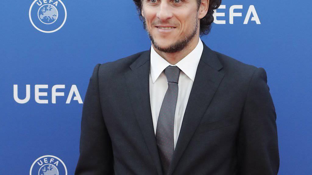 Diego Forlan blickt auf eine grossartige Karriere zurück