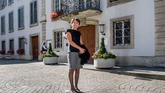 Jolanda Urech, die neu gewählte SP-Stadtpräsidentin von Aarau