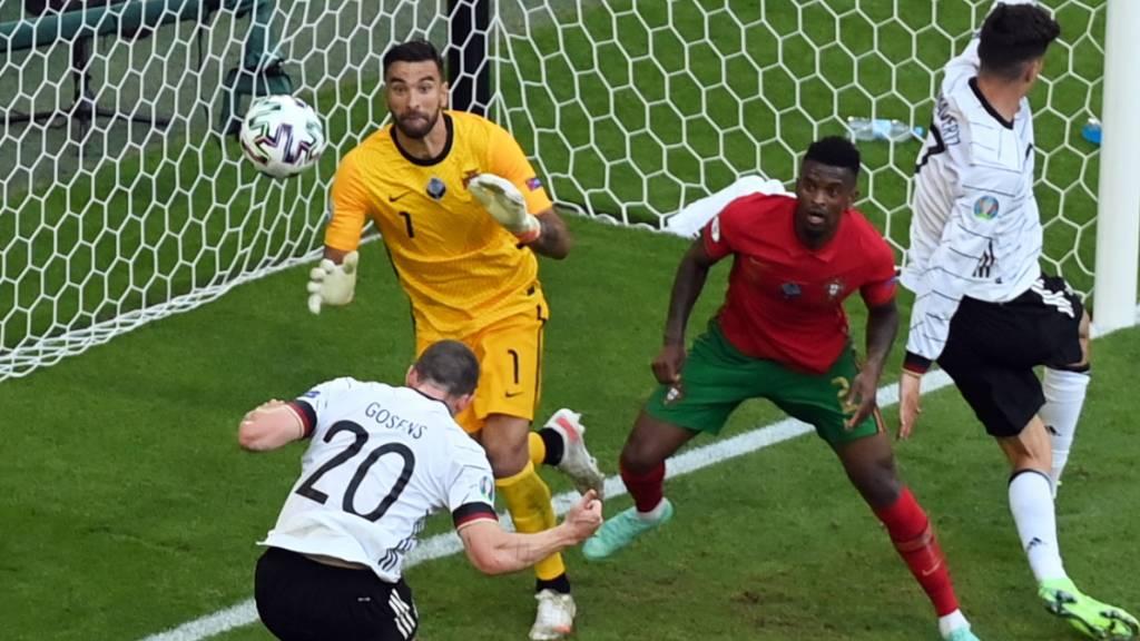 Deutschland schlägt Portugal nach 0:1-Rückstand 4:2