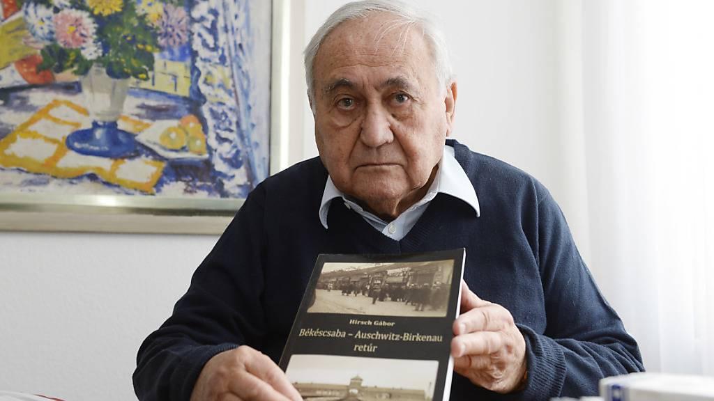 Gabor Hirsch, der das Konzentrationslager Auschwitz überlebt und sich zeitlebens gegen Rassismus und Antisemitismus eingesetzt hat, ist im Alter von 90 Jahren in Zürich gestorben. (Archivbild)