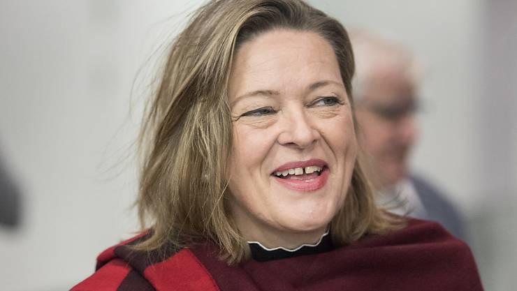 Eher konservativ und EU-kritisch: Die Urner CVP-Regierungsrätin Heidi Z'graggen. (Archivbild)