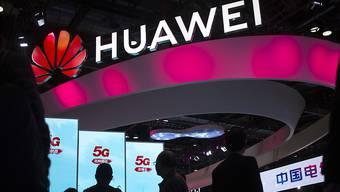 Der chinesische Huawei-Konzern, Anbieter von 5G-Netzen, ist in Frankreich nicht vom Markt ausgeschlossen. Es gibt jedoch Beschränkungen. (Archivbild)