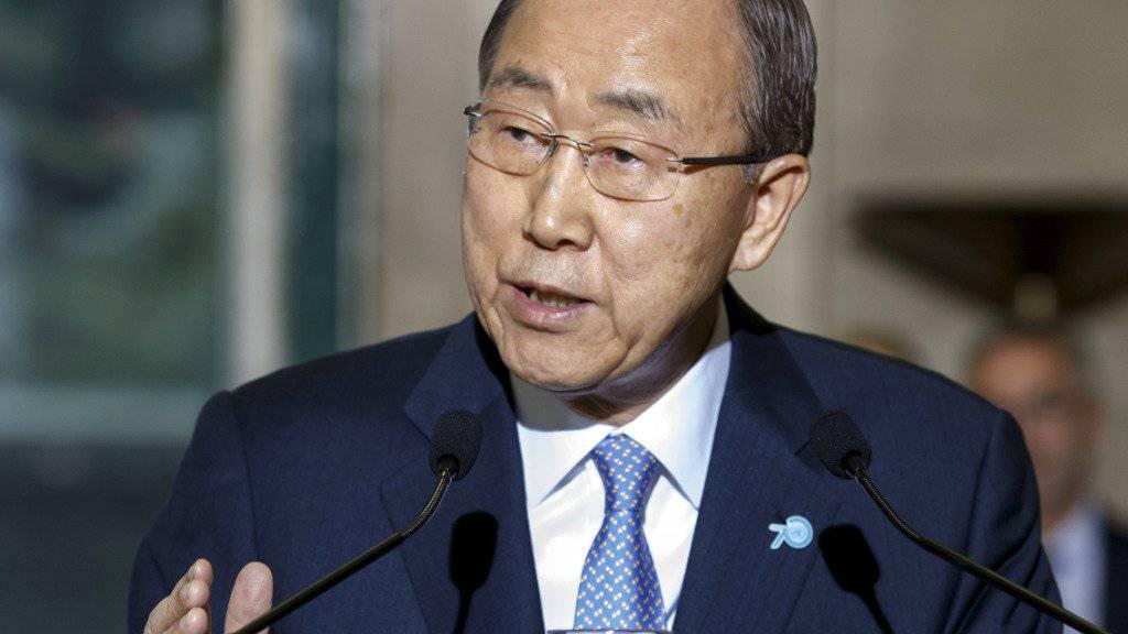 Nach unbestätigten Berichten wird der aus Südkorea stammende UNO-Generalsekretär Ban Ki Moon in dieser Woche in Nordkorea erwartet. (Archivbild)