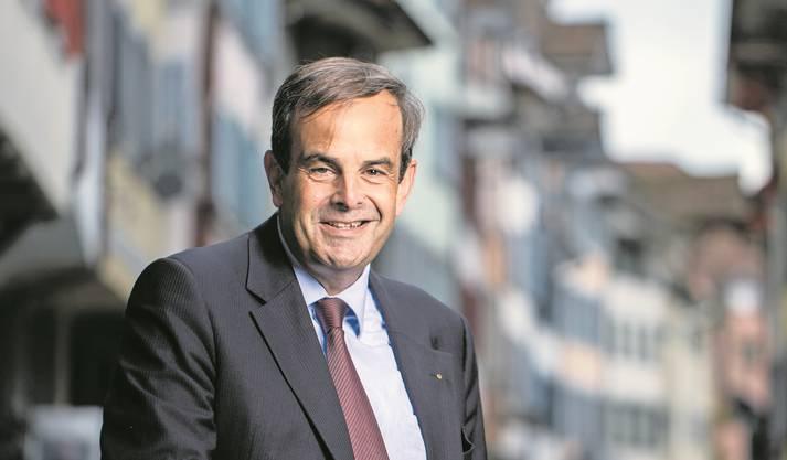 «Ich bin nicht Mediensprecher des Papstes, sondern Präsident einer christdemokratischen Partei»: Gerhard Pfister, CVP-Präsident.