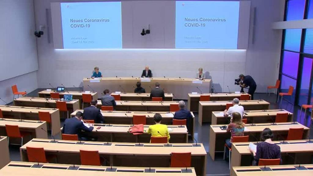 Komplette Pressekonferenz des Bundes vom 18. Mai 2020