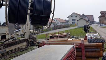 Erdsonden-Bohrungen nehmen im Kanton Aargau nehmen zu – und sorgen für rote Köpfe.