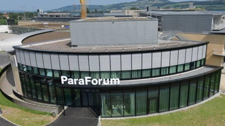 Das neue Besucherzentrum Paraforum im Schweizer Paraplegiker-Zentrum in Nottwil informiert über das Leben mit Querschnittlähmung.