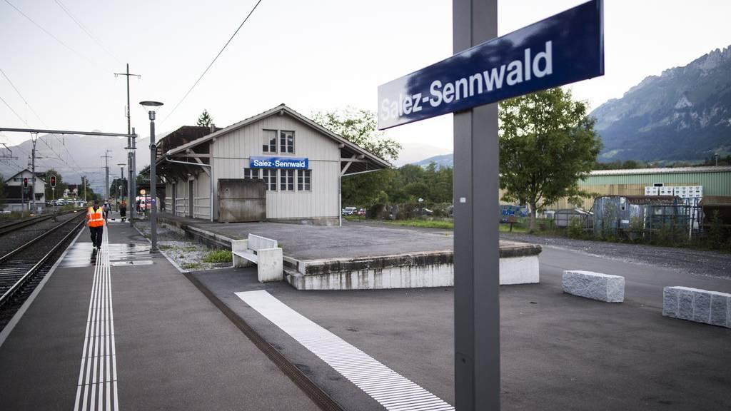 Zugunterbruch zwischen Buchs und Salez-Sennwald. (Archiv)