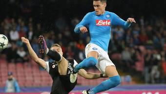 José Callejon erzielte das 1:0 für Napoli