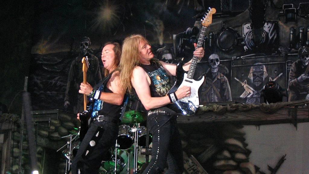 Iron Maiden kommen auf Tour nochmals in die Schweiz