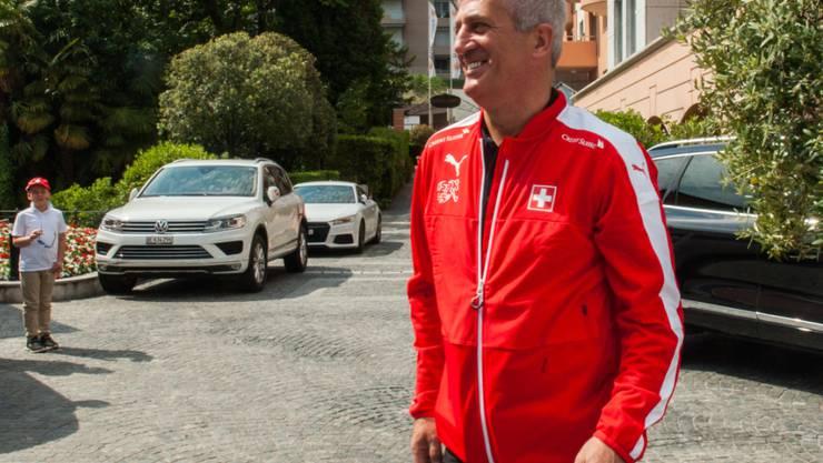 Nationaltrainer Vladimir Petkovic zeigt sich vor dem Testspiel am Samstag (16.15 Uhr/SRF Zwei) in Genf gegen Belgien zuversichtlich