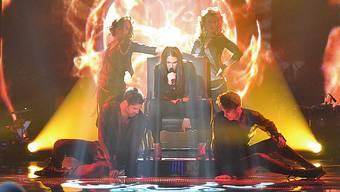 Freschta aus Würenlos bei ihrem Auftritt in «The Voice»