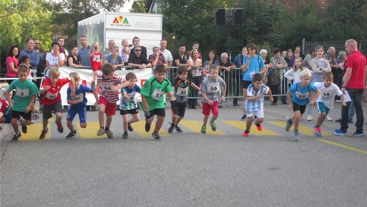 Am Raiffeisen-Cup wurde um jeden Meter gekämpft.