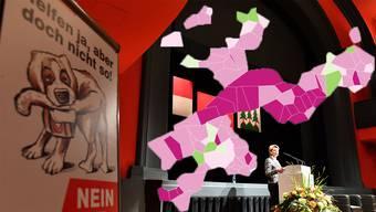 Der Einsatz von Bundesrätin Karin Keller-Sutter – hier in Olten – verfing an der Urne.
