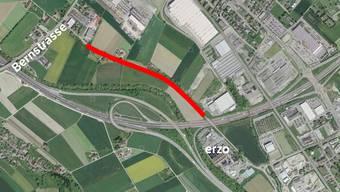Auf diesem Strassenabschnitt neben der A1 wird gefeiert.