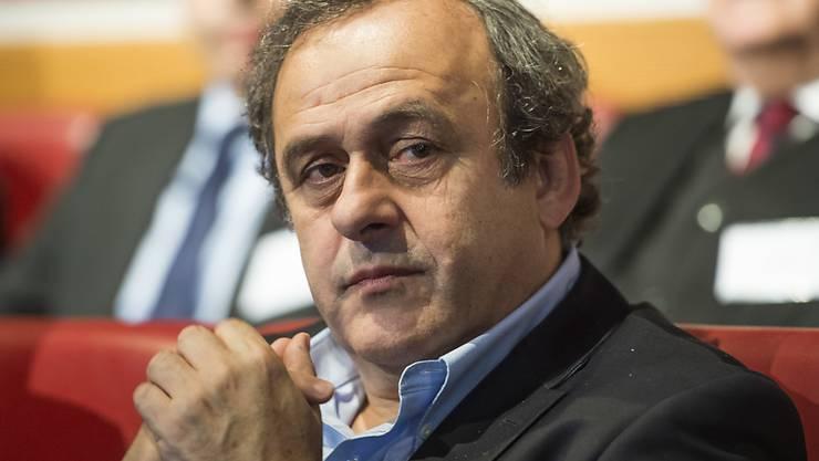 Für den gesperrten UEFA-Präsidenten Michel Platini wird im September ein Nachfolger gesucht