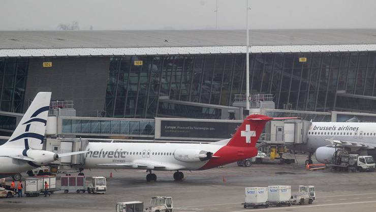 Flughafen Brüssel, der Ort des Geschehens.
