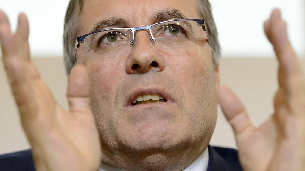 Stellt sich nicht zur Wiederwahl: Der Walliser Staatsrat Jean-Michel Cina. (Archivbild)
